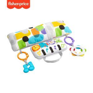 Fisher-Price Musik Spielkissen Bauchlage, Baby-Spielzeug für Neugeborene