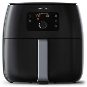 Philips Fritteuse Avance Twin TurboStar Airfryer XXL HD9651/90 2225 Watt 1,4 kg