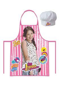 Disney Soy Luna Chefkoch Koch Set 2 tlg. Kochmütze & Kochschürze