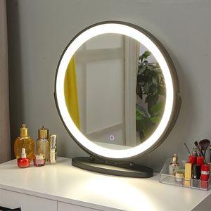 Kosmetikspiegel mit LED Beleuchtung Make Up Schminkspiegel Schminktisch Beleuchtung 50cm Dimmbar Touch