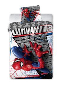 Spiderman Marvel - Kinder Jugend Bettwäsche Set 135-140x 200 Baumwolle für Jungen