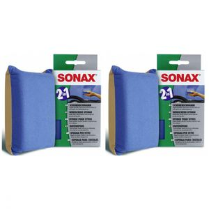 SONAX ScheibenSchwamm - Anzahl: 2x