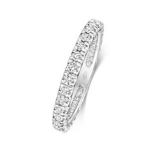 Platin 950 2,5mm Damen - Diamant Trauring/Ehering/Hochzeitsring Brillant-Schliff 0.63 Karat G - SI VS, 53 (16.9); WJS2085PT950