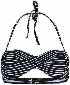 Stuf St. Tropez 4-L Bandeau Bikini Top Damen schwarz : 38 Größe: 38