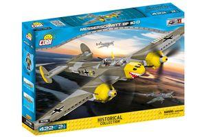 COBI 5716 HC WWII Messerschmitt Bf 110D 422 Teile Bausatz