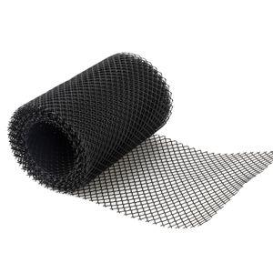 15 * 600 cm Kunststoff Dachrinnenschutz Mesh Protector Blattschutzabdeckung Netting Rinnennetz