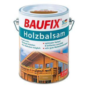 BAUFIX Holzbalsam Kiefer 4 L (2x2L) Lasur wetterbest. alle Holzarten