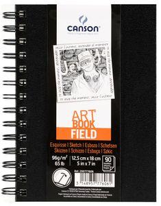 CANSON Skizzier und Zeichenblock FIELD 125 x 180 mm