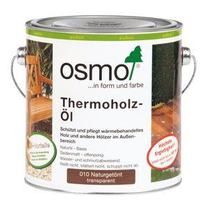 OSMO 010 Thermoholz Öl Naturgetönt 2,5 Ltr