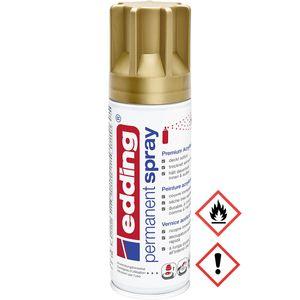 Edding Permanent Spray Premium Acryllack in reichgold matt 200ml