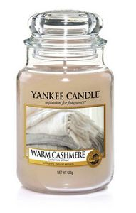 Yankee Candle Classic großes Glas Warm Cashmere 623g