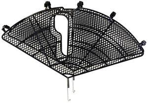 Speichenschutz, Fahrradnetz, Kleiderschutz, Rockschutz oder Mantelschoner aus Kunststoff für Fahrrad in Schwarz