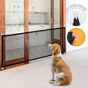 NHundeschutzgitter Treppenschutzgitter Ohne Bohren Hund Türschutzgitter Einfach zu Installieren Absperrgitter Tür für Haustiere 180 X 72 CM