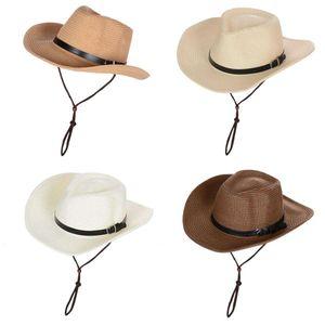 4 Stück Uni Packable Straw Sun Hat Braid Floppy Panama Fedora Cap Mit Großer Krempe