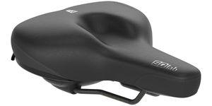 SQlab 621 M-D Active Fahrradsattel für City und Komfort, Größe:24 cm breit