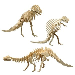 "Holzbausatz 3er Set ""Dinosaurier"""