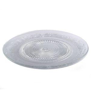 Glasteller Transparent Groß (33 cm) 1 Stück