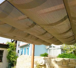 Paragon Sonnensegel für Pavillon Florida braun Sonnenschutz Zubehör Gartenpavillon