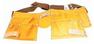 Veto 416 Arbeitstaschengürtel 11 Taschen/Fächer/Schlaufen - Echtleder - braun