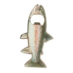 Multifunktion Fisch Form Dosenöffner Edelstahl Bieröffner Kronkorkenöffner Bottle Opener