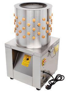 Beeketal Geflügelrupfmaschine Rupfmaschine Nassrupfmaschine für Wachteln+Tauben - BRM750