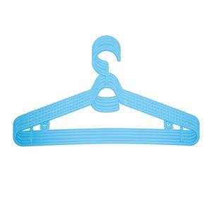 10x Kinderkleiderbügel Babykleiderbügel Kleiderbügel Blau 28 cm Wäschebügel Kinder Baby Set