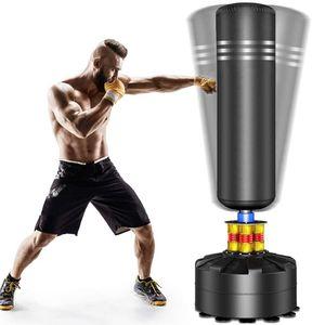 YOLEO Boxsack Standboxsäcke Trainingsgeräte Erwachsene Freistehender Standboxsack Boxing Trainer Heavy Duty Punchingsäcke