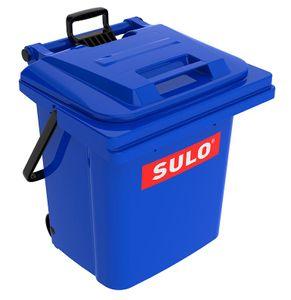 SULO Mülltonne, Mülleimer, Müllbehälter, Abfalleimer, Rollbox 45 Liter blau (45 Sulo blau)