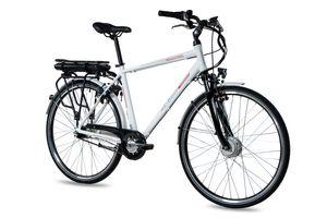 28 Zoll E-Citybike CHRISSON E-GENT 7G Shimano Nexus ANANDA weiß matt