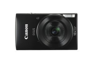 Canon IXUS 180, 20 MP, 5152 x 3864 Pixel, CCD, 10x, HD, Schwarz