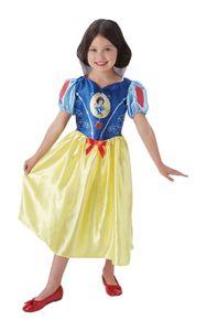 Rubies - Mädchen Disneyprinzessinnen-Kostüme - SCHNEEWITTCHEN - M (5-7 Jahre)