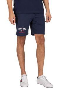 Tommy Jeans Herren Zeitlose Sweat Shorts, Blau XL