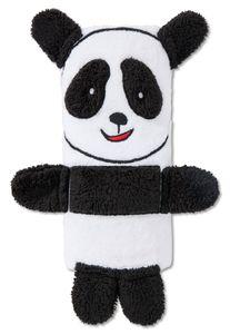 Schiesser Unisex - Baby Frottee Handtuch 50x100cm als Pandabär Rolle - 166334, Größe Kinder:One size, Farbe:weiss