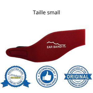 EarBand It Neopren-Stirnband zum Schwimmen, rot, Größe S
