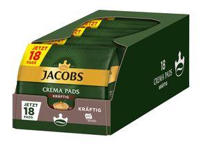 JACOBS Pads Crema kräftig 5 x 18 Getränke - 90 Kaffeepads Senseo kompatibel