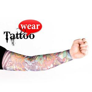 Tattoo Ärmel Strümpfe Tattooärmel Skin Sleeves Tätowierung Armling  #03 Heavy Metal