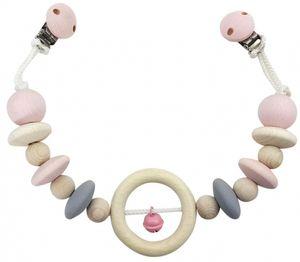 Babyspielzeug Kinderwagenkette Ring rosa BxLxH 490x35x70mm NEU