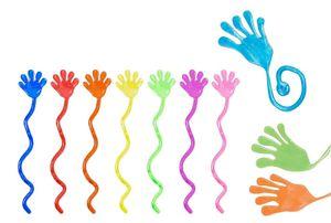 24x Kinder Klatschhand Glibberhand Klebehand Mitbringsel Tombola Glibber