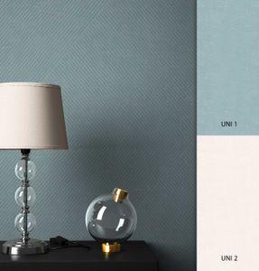 Streifentapete  Blau   Modern Landhaus  Streifen Linien  Geordie – Muster