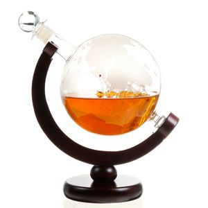 850ml Erdmuster Karaffe Dekanter Wein Kristallglas Dekantierkaraffe Rotwein Deko