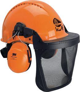 3M Waldarbeiterkombi G3000M H31P3E V5B 3tlg. EN397 mit Kunststoff-Netz Helm UV-stabil - 3M0315B