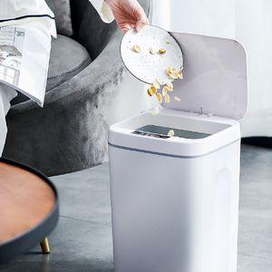 Sensor Mülleimer Sensor Haushalts Smart Mülleimer, in Küche und Bad verwendet