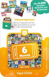 tigerticket 6 Monate - Tigermedia Ticket