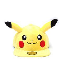 Pokemon - Pikachu Plush Snapback