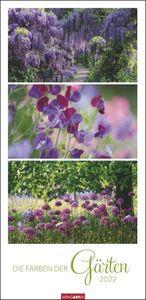 Die Farben der Gärten Kalender 2022