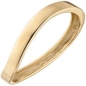 JOBO Damen Ring 58mm 375 Gold Gelbgold Goldring