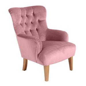 Max Winzer Brandon Sessel - Farbe: rosé - Maße: 71 cm x 82 cm x 97 cm; 2957-1100-2044206-F01