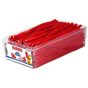 Haribo Balla Stixx fruchtige Erdbeer Konfektstangen 150 Stück 1125g