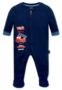 Schiesser  - Jungen-/Baby Anzug Gr. 62 * Feuerwehr Schlafanzug