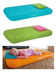 Intex Kinder Luftmatratze Gästebett Luftbett mit Kopfkissen aufblasbare Matratze